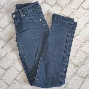 BCBG Max Azria Slim Straight Leg Dark Wash Jean's